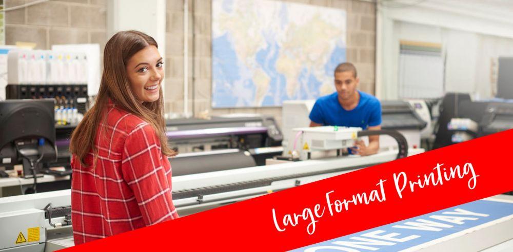 Large-format-printing
